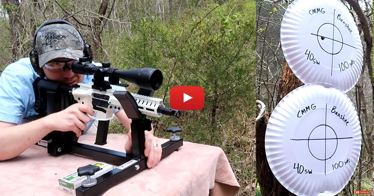 CMMG Banshee Pistol in 40 S&W