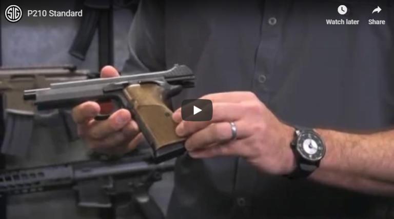 Sig P210 Standard 9mm Hammer-Fired Pistol