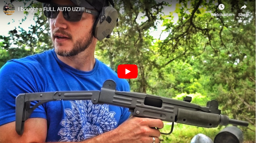 Full-Auto Uzi - From Auction Purchase to Range Demo