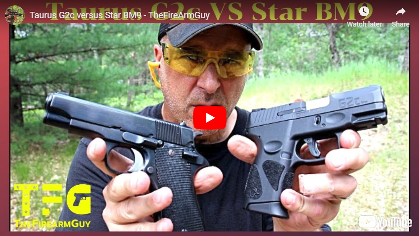 Inexpensive Gun Comparison - Taurus G2c vs Star BM