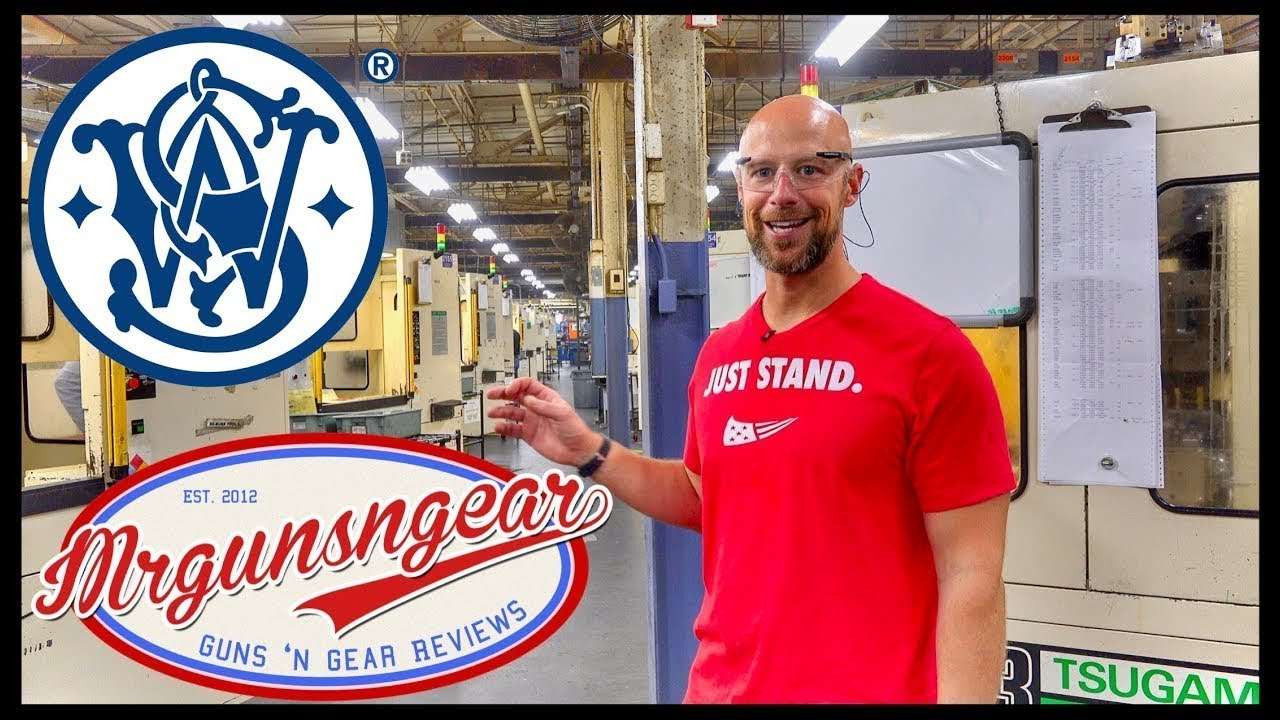 Smith & Wesson Factory Tour Springfield MA