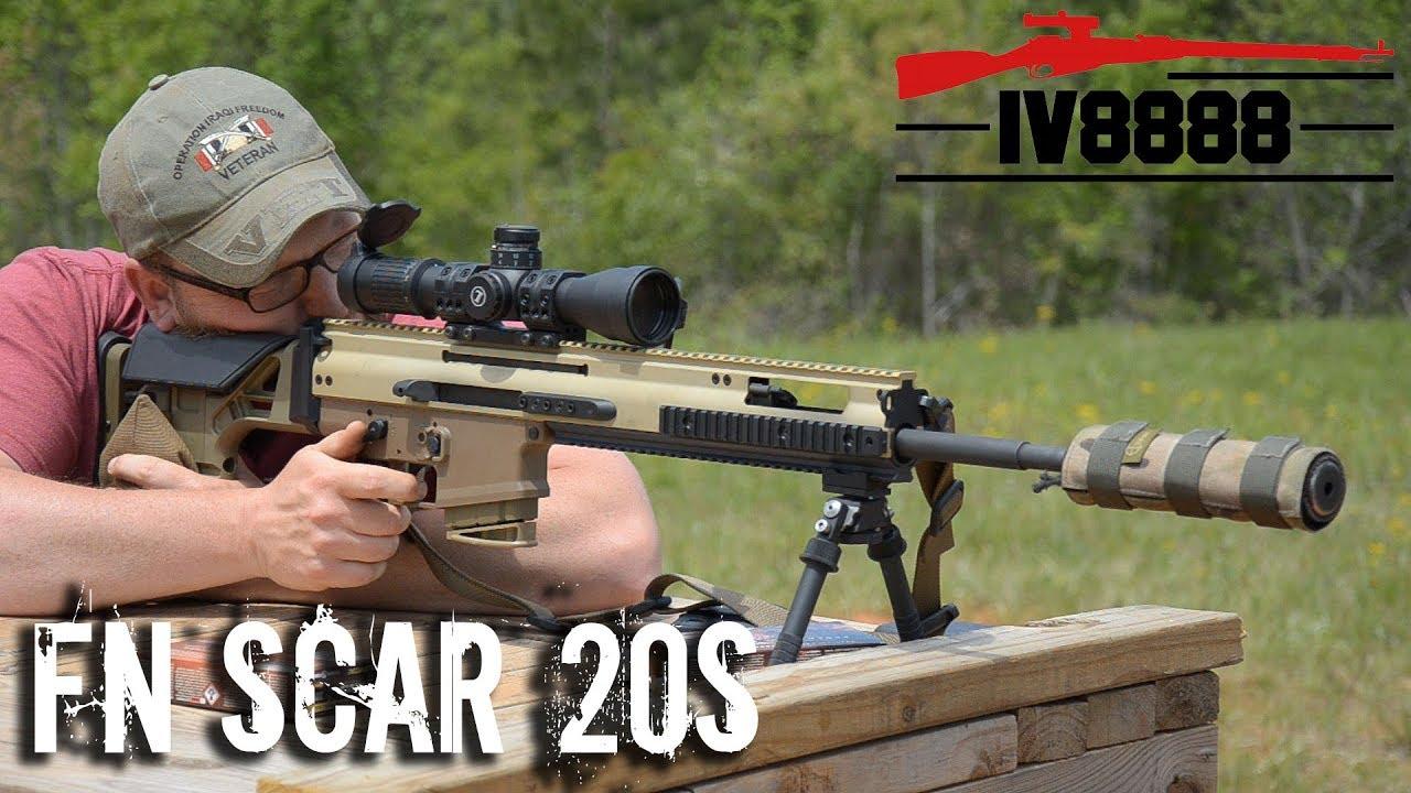 FN SCAR 20S Long Range Precision Rifle
