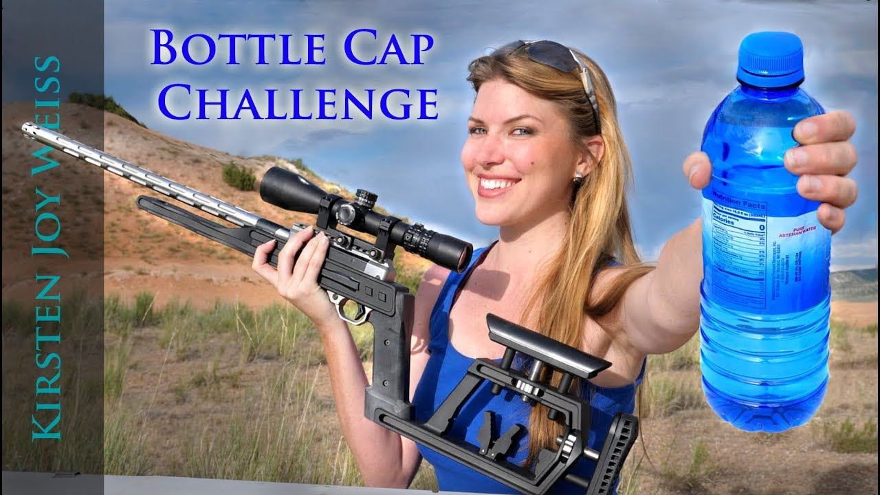 Trick Shot - Bottle Cap Challenge