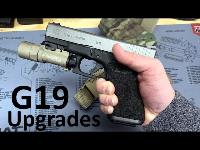Glock 19 Modifications by TYR Defense