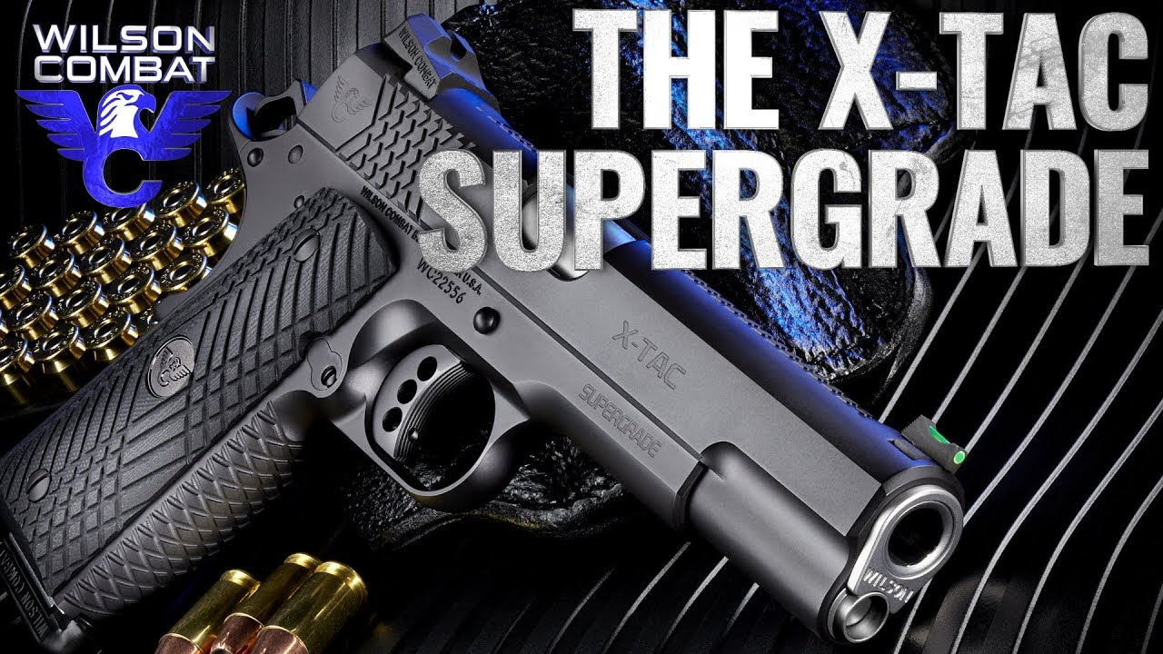 Wilson Combat X-TAC Supergrade Pistols Now Available