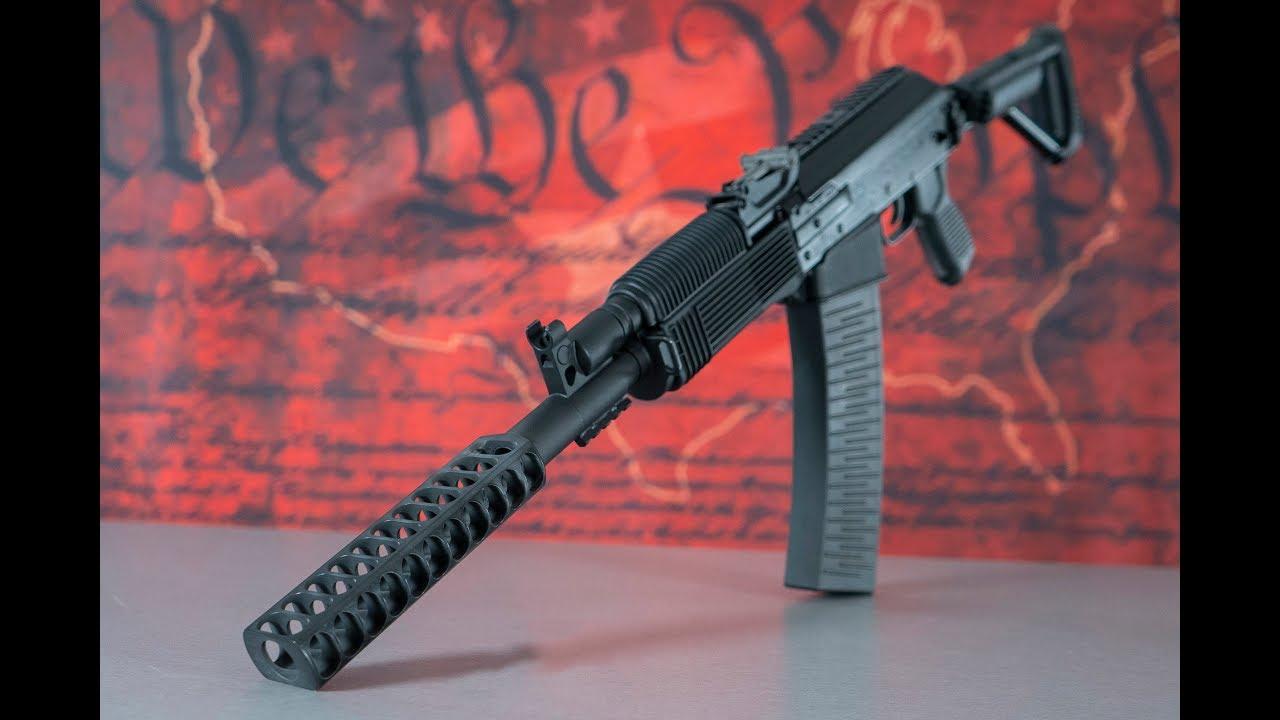 Molot Vepr 12 Zero Rise Muzzle Brake Shotgun (VPR-12-80)