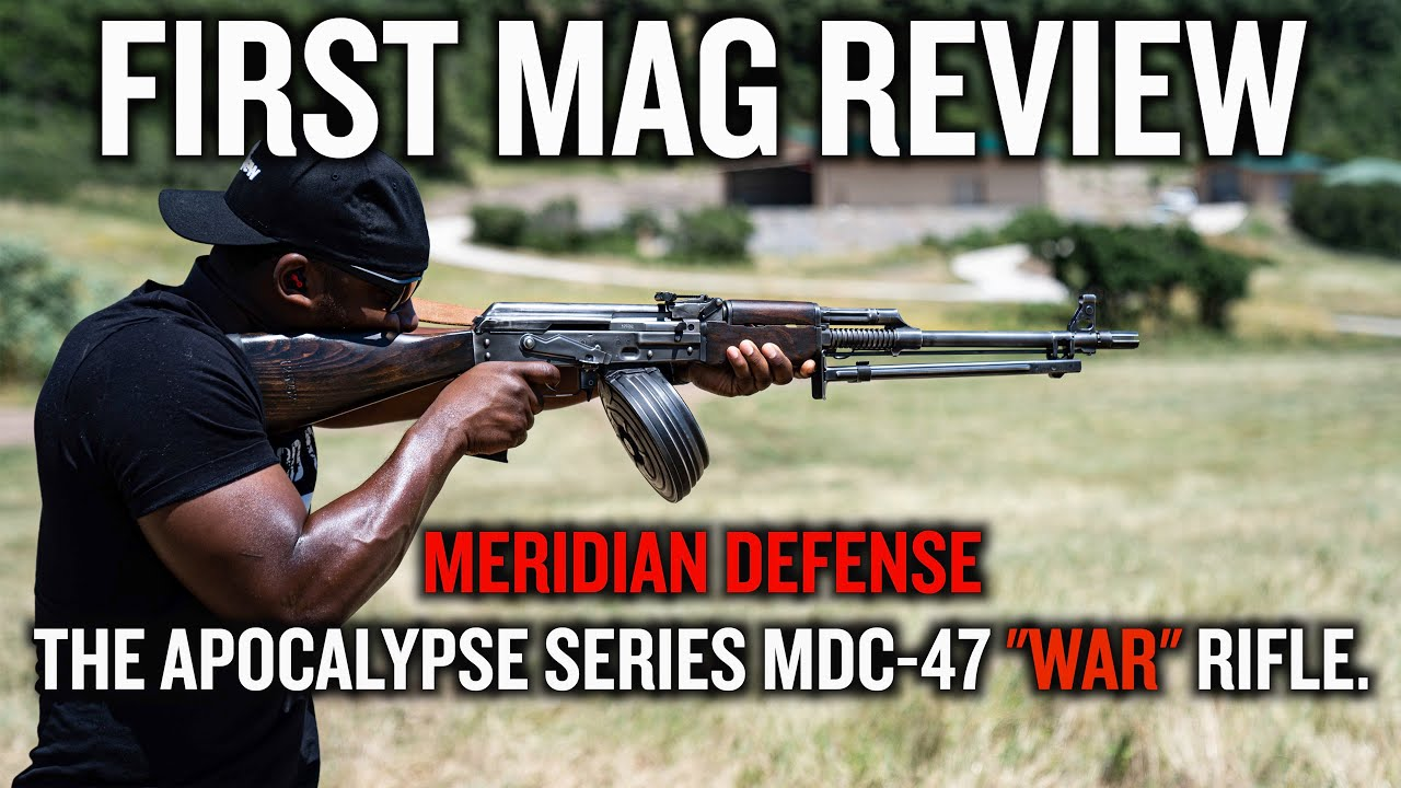 Meridian Defense Apocalypse Series MDC-47 War Rifle