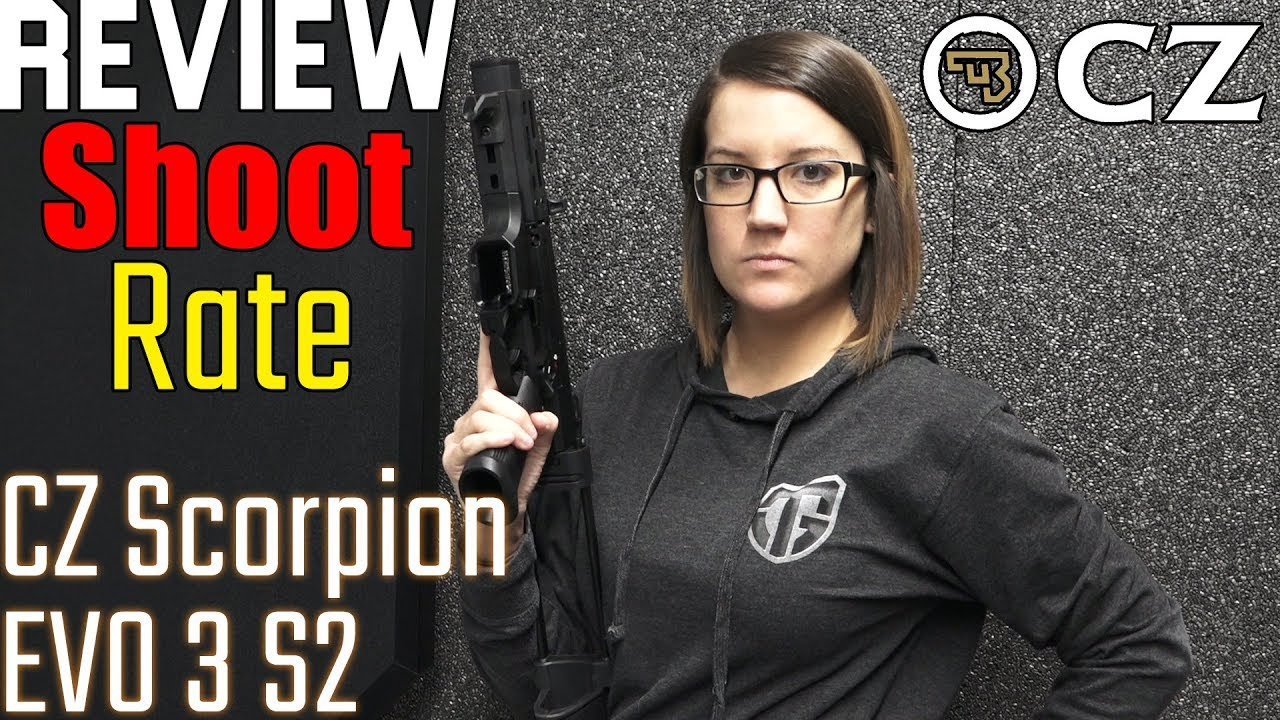 CZ Scorpion EVO 3 S2 Pistol Review