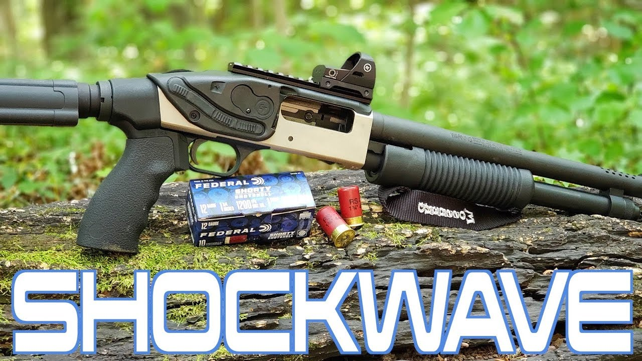 Mossberg 590 Shockwave with Brownells Boom Kit