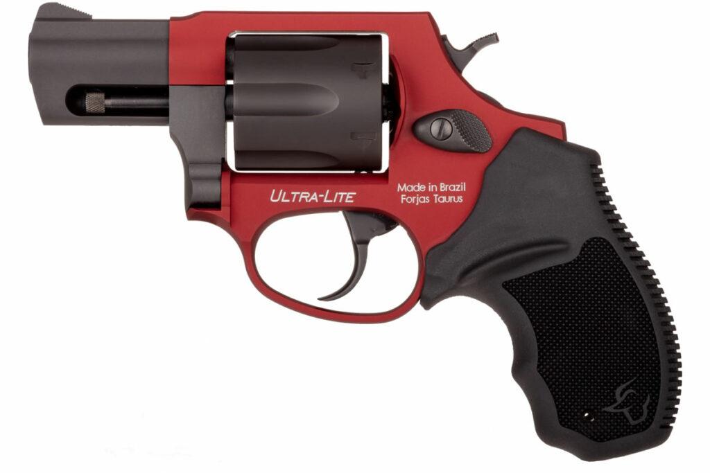 Taurus 856 38 Special Revolver in Anodized Burned Orange