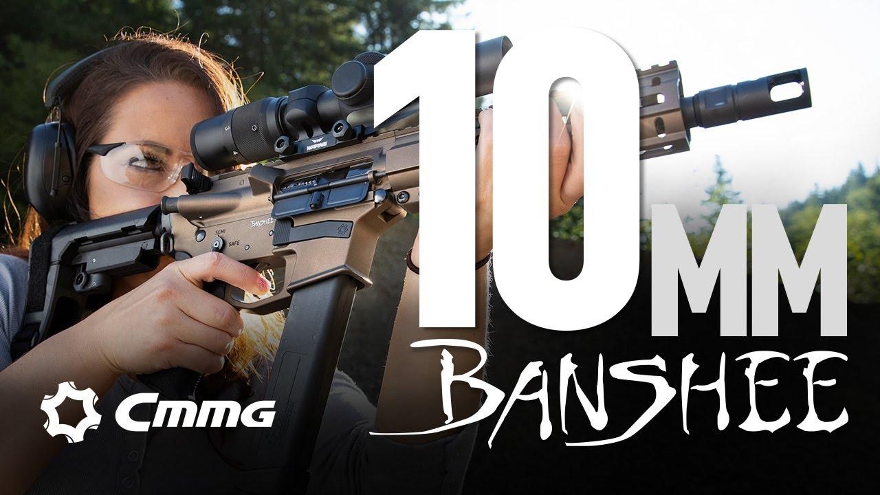 CMMG Banshee 10mm Pistols and SBRs