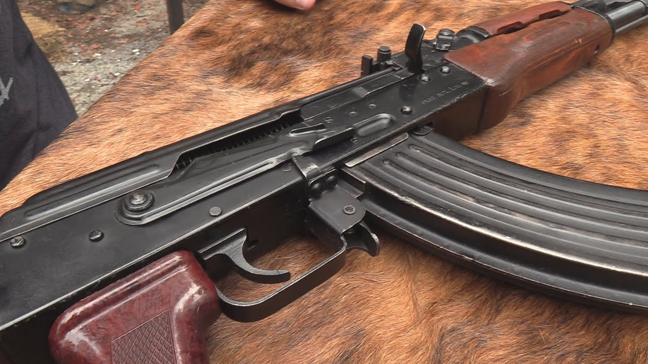 Egyptian Maadi AK-47 Range Review