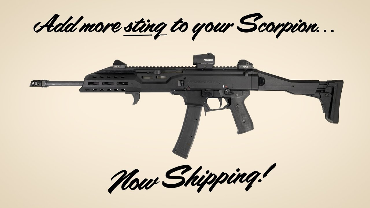 MagPul PMAG 35 EV9 for the CZ Scorpion EVO 3