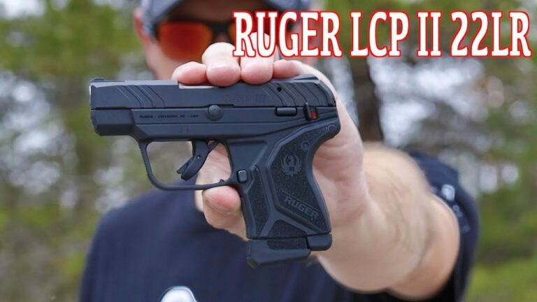 Ruger LCP II 22LR Review
