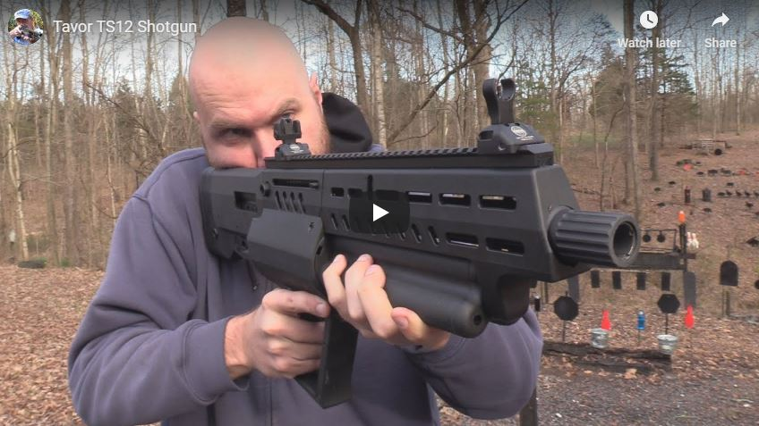 Tavor TS12 12 Gauge Bullpup Shotgun Review