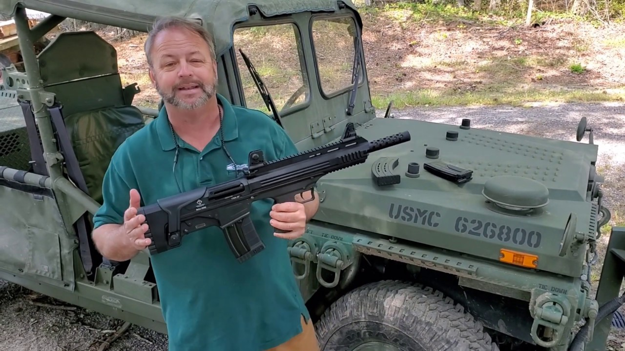 ATI Bull-Dog 12 Gauge Semi-Auto Shotgun