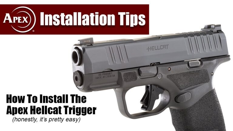 Apex Hellcat Trigger Installation Demo