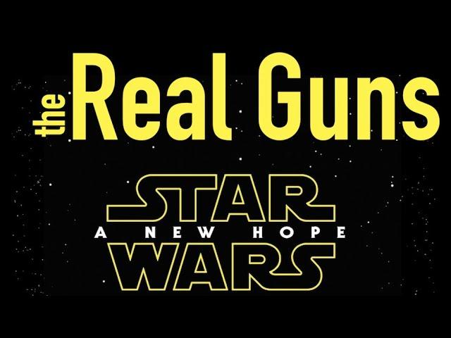 Real Guns of Star Wars