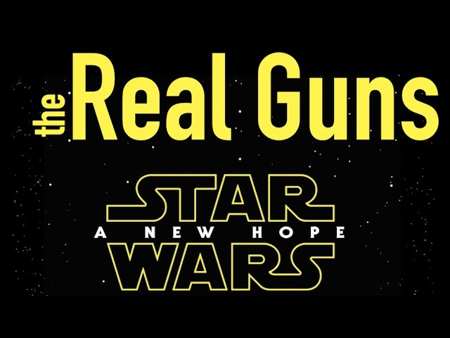 Real Guns of Star Wars