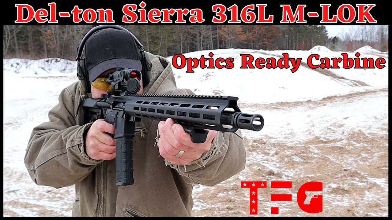 Del-Ton Sierra 316L Optics Ready Rifle