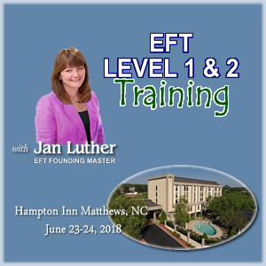 EFT Level 1 and Level 2 Training with Jan Luther, EFT Founding Master