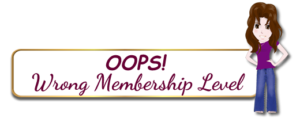 Wrong Membership Level