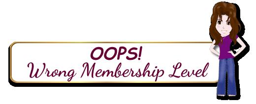 Wrong Membership Level