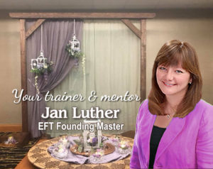 Jan Luther, EFT Founding Master - Your trainer and mentor at The EFT Academy