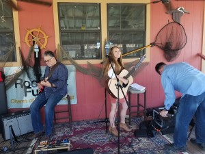 Musicians at Shaws Bend