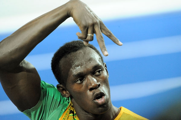 World Relays-Usain Bolt