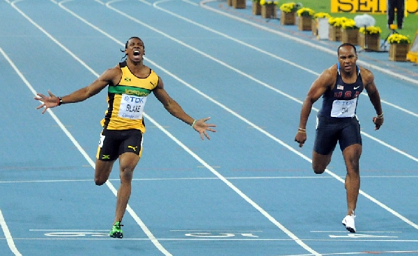 Jamaican sprinter Yohan Blake says 4x100m World record will go again