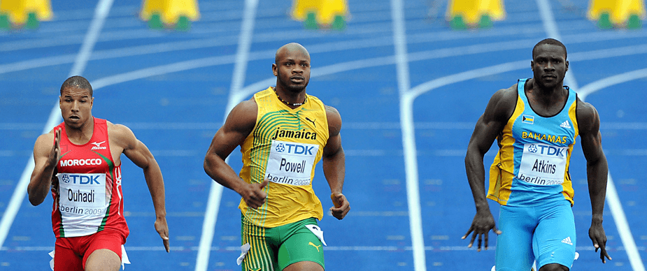Asafa Powell can beat Usain Bolt