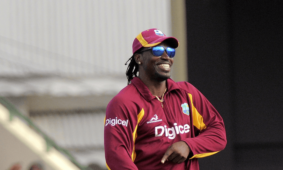 Chris Gayle of West Indies