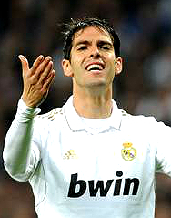 Kaka of Real Madrid