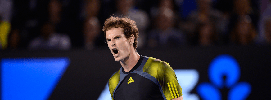 Andy Murray at Australian Open