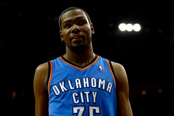 Kevin Durant of Oklahoma City Thunder