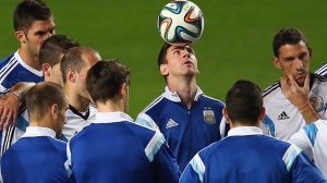 Lionel Messi leads Argentina in World Cup last 16