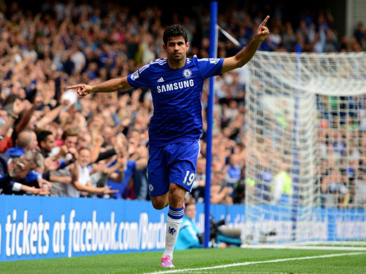 diego costa goalscorers: English Premier League