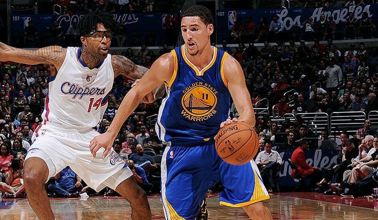 The Golden State Warriors lead the NBA Playoffs Teams