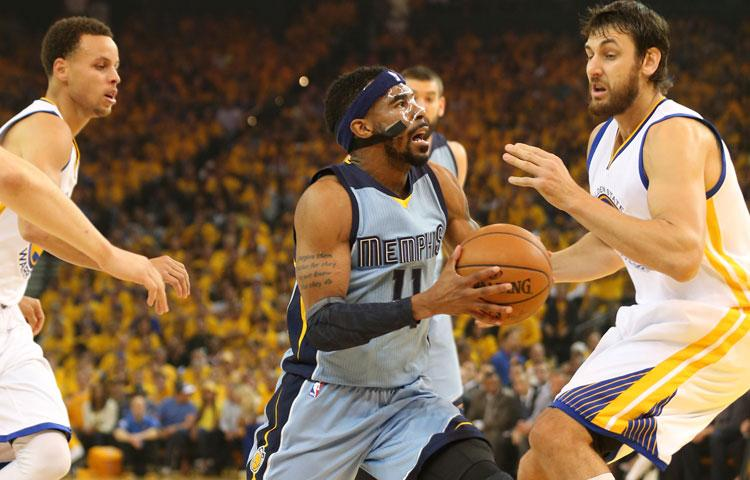 Mike Conley of the Memphis Grizzlies