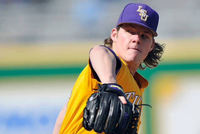Jared Poche' of LSU Tigers Baseball Team