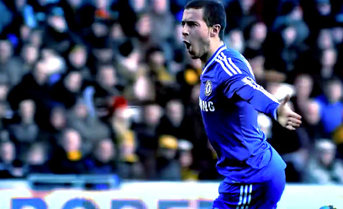 Eden Hazard Chelsea forward
