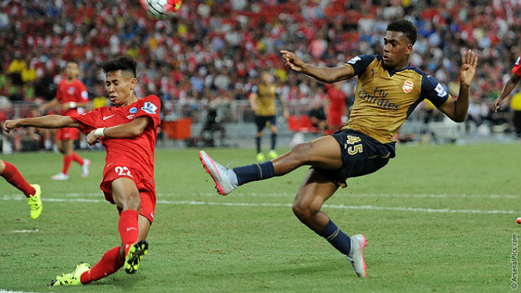 Alex Iwobi Arsenal.com