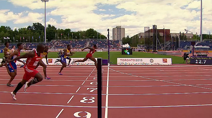 David Oliver wins Pan Am Games