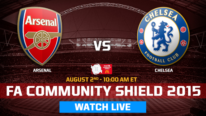 Arsenal v Chelsea Live Streaming