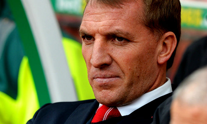 Liverpool manager Brendan Rodgers