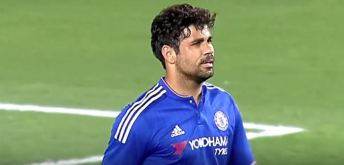 Diego Costa of Chelsea