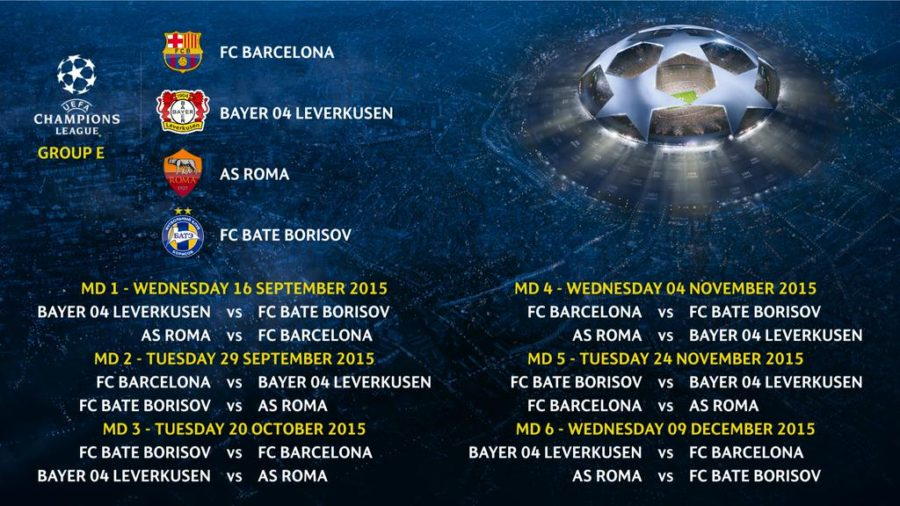 Champions League Group E