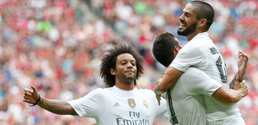 Real Madrid Audi Cup 2015