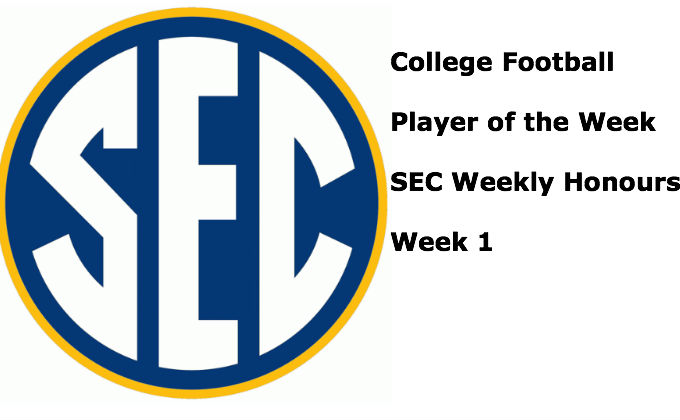 The SEC Players of the Week